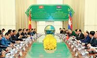 การเจรจาระดับสูงระหว่างเวียดนามกับกัมพูชา