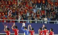 ทีมชาติเวียดนามชุดยู20แสดงความมุ่งมั่นในการแข่งขันฟุตบอลโลก
