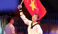 เวียดนามคว้าเหรียญเงินในการแข่งขันเทควันโดชิงแชมป์โลก