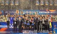 การแข่งขันฟุตซอลชิงแชมป์สโมสรเอเชียปี2017เสร็จสิ้นลง