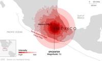 มีผู้สียชีวิตเกือบ250คนจากเหตุแผ่นดินไหวในประเทศเม็กซิโก