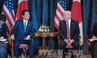 สหรัฐและญี่ปุ่นให้คำมั่นที่จะผลักดันความร่วมมือในการแก้ไขปัญหาของเปียงยาง