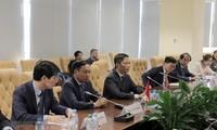 เวียดนามและสหภาพเศรษฐกิจเอเชีย-ยุโรปผลักดันความสัมพันธ์ร่วมมือทวิภาคี
