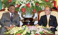 รัฐสภาเวียดนามและแอฟริกาใต้ส่งเสริมความร่วมมือทวิภาคี