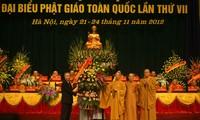 ปิดการประชุมใหญ่ผู้แทนทั่วประเทศพุทธสมาคมเวียดนามครั้งที่7