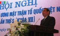 การประชุมครั้งที่5คณะกรรมการแนวร่วมปิตุภูมิเวียดนาม