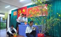 ตรุษเต๊ตที่อบอุ่นของทหารและประชาชนบนเกาะเจื่องซา