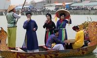 ท้องถิ่นต่างๆเริ่มเปิดเทศกาลแห่งวสันต์ปีมะเมีย