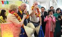 นักท่องเที่ยวต่างชาตินับหมื่นคนมาเที่ยวเวียดนามในช่วงต้นปีใหม่ 2015