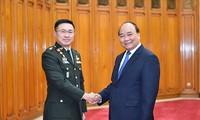 นายกฯเวียดนามให้การต้อนรับผู้บัญชาการทหารสูงสุดไทย