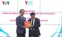 ผลักดันความร่วมมือระหว่างสถานีวิทยุแห่งชาติเวียดนามกับจังหวัด คย็องกี สาธารณรัฐเกาหลี