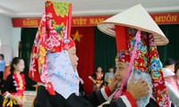 Quang Ninh성 Dao Thanh Phan족의 'Kieng gio'축제