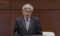 Министр науки и технологий Вьетнама ответил на запросы депутатов парламента