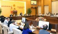 Постоянный комитет НС СРВ высказывает мнение по подготовке к 10-й сессии парламента