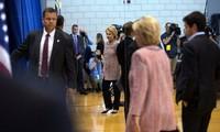 Хиллари Клинтон вернулась к своей избирательной кампании