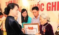 Вручены грамоты «За заслуги перед Родиной» родственникам погибших фронтовиков