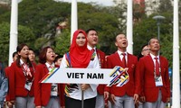 В Малайзии прошла церемония поднятия флагов стран-участниц 29-х Спортивных игр ЮВА