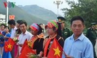Прошла вьетнамо-китайская дружеская встреча в сфере пограничной обороны