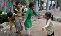 Традиционные игры народности Тям в провинции Ниньтхуан