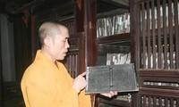 Buddhist woodblocks of Vinh Nghiem Pagoda