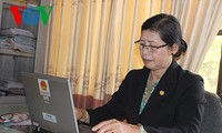 National Assembly Deputy H'Luoc Ntor of M'Nong ethnic