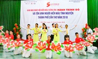 Can Tho 시,  72개의 대표적 자원 헌혈 단체 및 개인 표창