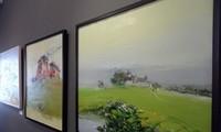 Vietnamese, South Korean modern fine arts on display