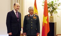 Vietnam, Spain boost defense cooperation