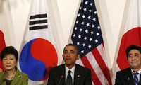US, Japan, and South Korea meet for North Korea's nuclear program