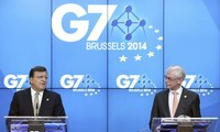 G7 countries worried about East Sea dispute
