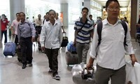 155 more Vietnamese workers in Libya arrive in Egypt