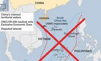 "US protests China's ""9-dash line"" in East Sea"
