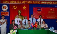 War veterans in Tay Ninh province and Cambodian localities boost cooperation