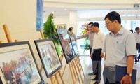 Photos about Truong Sa archipelago on display