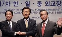 Japan, China, South Korea to convene foreign ministers' meeting in Tokyo