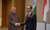 India, Indonesia call for peaceful solutions to East Sea disputes