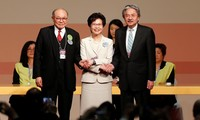 China appoints Carrie Lam HKSAR chief executive