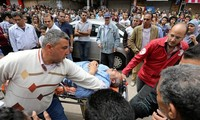World denounces terrorist attacks in Egypt