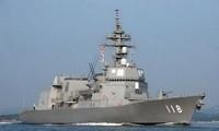 Japanese ship visits Cam Ranh