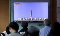 World denounces North Korea's missile test