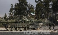 Syrian army announces halt in fighting in Eastern Ghouta