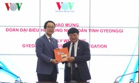 VOV, South  Korea's Gyeonggi province strengthen cooperation