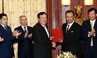 Cooperación integral en fiscalía entre Vietnam y Uzbekistán