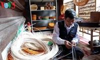 Aldea de oficio de artículos de mimbre y bambú Phu Vinh en Hanoi