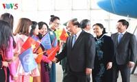Inicia premier vietnamita actividades en su visita a Estados Unidos