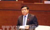Parlamento vietnamita determina el objetivo de crecimiento económico en un 6,7 % en 2017
