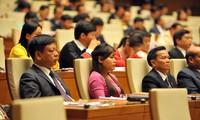 Diputados vietnamitas preparan preguntas para interpelaciones a miembros del gobierno