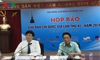 Destacan las obras relevantes en el XI Concurso Nacional de Periodismo de Vietnam