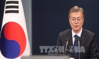 Presidente surcoreano espera reactivar negociaciones con Corea del Norte este año