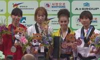 Taekwondista vietnamita logra la primera medalla en el Campeonato Mundial